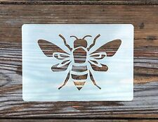 Large Worker Bee Stencil approx 135mm x 90mm Washable and Reusable
