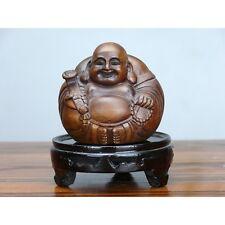 """Holz Buddha """"Kleiner Buddha"""", Holzfigur, chinesische Holzschnitzerei"""
