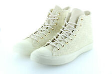 Converse Chuck Taylor All Star Hi Woven Parchment All Beige Gr. 42,5 / 43,5