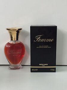 Rochas Femme EDT 30ml Spray New & Rare