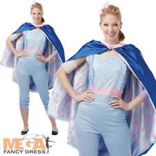 Bo Peep Ladies Fancy Dress Disney Toy Story 4 Shepherd Adults Character Costume