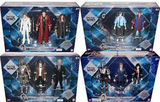 Doctor Who Action Figure Lot, 12+ figures, 10th, 11th Drs, River Song, Cyberman