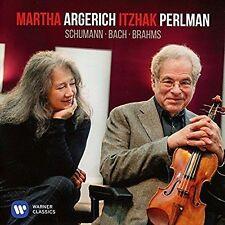 Bach & Schumann, Martha Argerich and Itzhak Perlm, Good