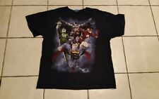 "T-SHIRT;L;LOGO:""Batman; Superman; Robin and '?'.Very Cool Design;Super Cool;Neat"
