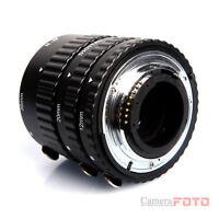 Macro Extension Tube Adapter FOR nikon d5000 d3100 d90 d300 d700 d7000 d5100 UK