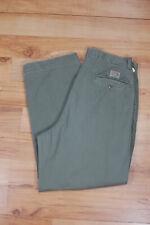 Vintage 80s Polo Ralph Lauren Cotton Khaki Preppy Americana Chino Pants 32 W Usa