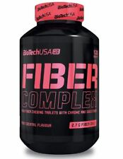 BIOTECH USA FIBER COMPLEX 120 TABS. WEIGHT CONTROL WITH INULIN AND CHROMIUM !