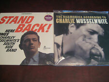 CHARLEY MUSSELWHITE'S 180 Gram Limited Edition  AUDIOPHILE LPS STAND BACK & HARP