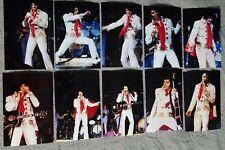 Elvis Presley 10 Photo Set White Pinwheel, Detroit, April 6, 1972 & Free CD!