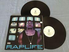 TASH RAP LIFE HIP HOP 1999 USA RELEASE DOUBLE LP
