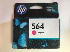 Genuine HP 564 Magenta PRINTER INK CARTRIDGE  (Past used by date)