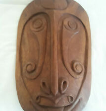 Antique Carved Igorot Asians Wood Carving Bookends