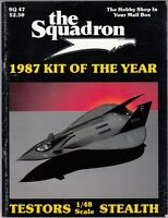 """[57539] """"THE SQUADRON"""" MODELER MAGAZINE 1987 KIT OF THE YEAR VOL. 47"""