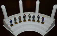 THE EIGHT U.S. PRESIDENT FIGURINES MARX NEVER MADE + DISPLAY STAND
