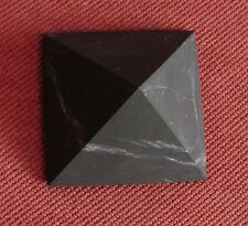 Shungite Unpolished Pyramid 50 mm Healing Protection Schungite Karelia Russia
