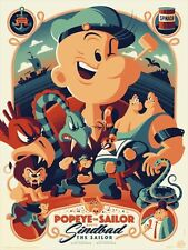 POPEYE THE SAILOR MEETS SINDBAD TOM WHALEN R2016 Limited edition print 280