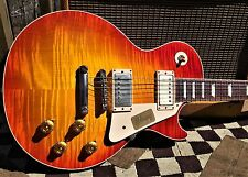 Gibson 1958 Les Paul Standard Historic Reissue 2014 Washed Cherry Burst VOS R8