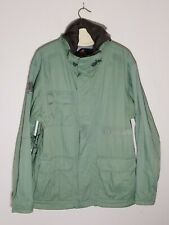 Burton Men's Ski Snowboard Jacket Sz Large - Green Coat Parka
