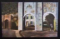 Benzaquen Unused Vintage Postcard - SOUTHPORT GATES GIBRALTAR - VGC