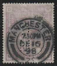 D1961: Great Britain #96 Used; Cancel; Cv $165