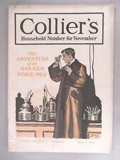 Collier's Magazine - October 29, 1904 -- Sherlock Holmes story -- Conan Doyle