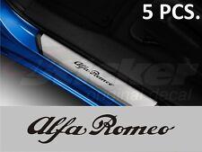 Alfa Romeo DoorStep stickers decal emblem logo 145 146 147 155 156 159 164 166