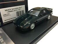 1/43 HI STORY HS081SP2 MAZDA SAVANNA RX7 FC3S WINNING LIMITED model car KYOSHO