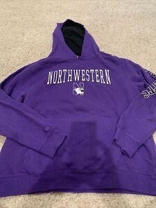 Youth Northwestern XL (20) Hoodie Hooded Sweatshirt Colosseum Athletics