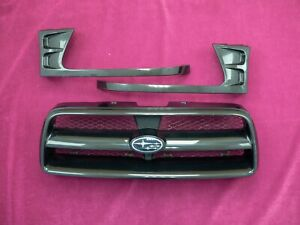 JDM SUBARU FORESTER XT AERO SG5 SG9 FRONT GRILL GRILLE 02-05MY OEM