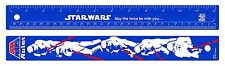 "HELIX 30cm /12 Inch ""Star Wars 40th Anniversary Retro Storm Trooper"" Ruler"