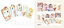 Nail Art Sticker Water Decals Transfer Stickers Decorative Pussy Cats (Dy003)
