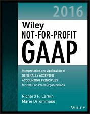 Wiley Not-for-Profit GAAP 2016: Interpretation and Application of-ExLibrary