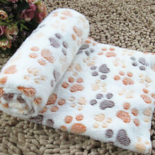 Dog Cat Puppy Pet Fleece Warm Blanket Mat Sleeping Soft Bed Cushion Pad Us