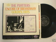 The Platters Encore of Broadway Golden Hits Mercury LP