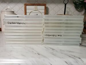 Huge Lot of 20 Empty Stampin Up Cases Storage Containers Snap Boxes