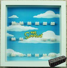 Display Frame Case for LEGO Simpson minifigures