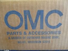 Johnson/Evinrude OEM outboard OMC decal set 0435655 strbd side and rear V6 piece