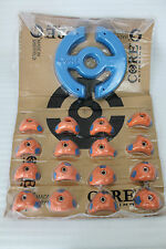 NEU! Core Climbing Kletter Griffe (16 Stück) + Spezial-Klettergriff, orange-blau