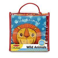 Melissa And Doug K's Kids Wild Animals Cloth Book NEW Educational
