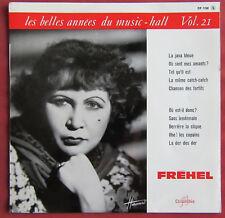 "FREHEL   25 CM 10"" LES BELLES ANNEES DU MUSIC HALL 21"