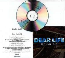 MELANIE C Dear Life 2016 UK 1-track promo CD