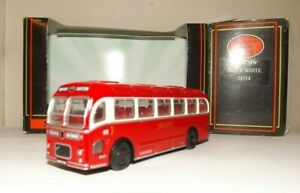 EFE 16214 RED AND WHITE BRISTOL MW S/D COACH 4MM 1:76 SCALE