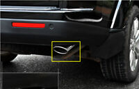 For Land Rover Discovery 4 LR4 2010-2016 Tail Pipe Exhaust Muffler Tip Cover 2*