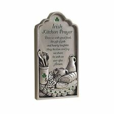 Irish Kitchen Prayer Plaque, New, Free Shipping