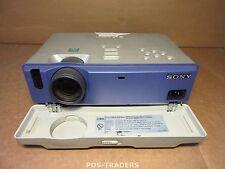 Sony VPL-CS1 SuperLite Projector Beamer 3LCD SVGA 600 LUMENS Excl Remote 2688 H