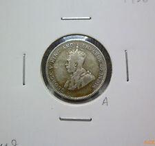 A: Strait Settlement 10 cents 1926 - VF