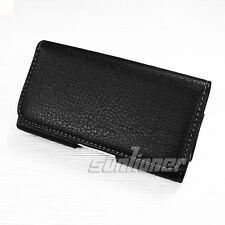 Leather Case Cover Pouch Holster with Belt Clip for LG Google Nexus 5, D820 D821