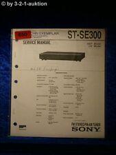 Sony Service Manual ST SE300 Tuner (#0650)