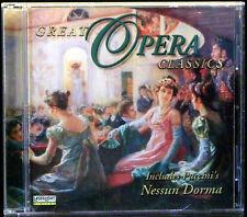 Great Opera Classics Includes Puccini's Nessun Dorma (CD, 1999 Delta/LaserLight)