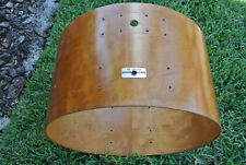 """YAMAHA 9000 Pre RECORDING CUSTOM 24"""" REAL WOOD BASS DRUM SHELL for YOUR SET! E86"""